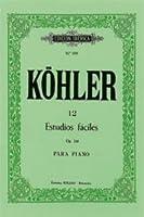 12 ESTUDIOS FACILES OP.216.(PIANO).(REF:EI0109)