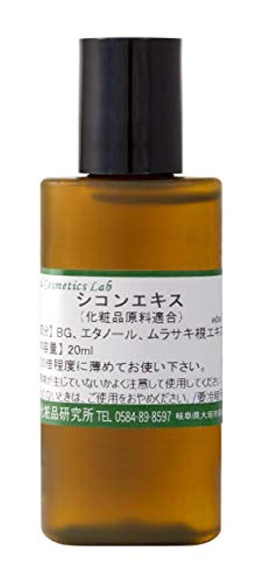 フルーティースイングベリ紫根エキス 20ml シコンエキス 手作り化粧品 原料