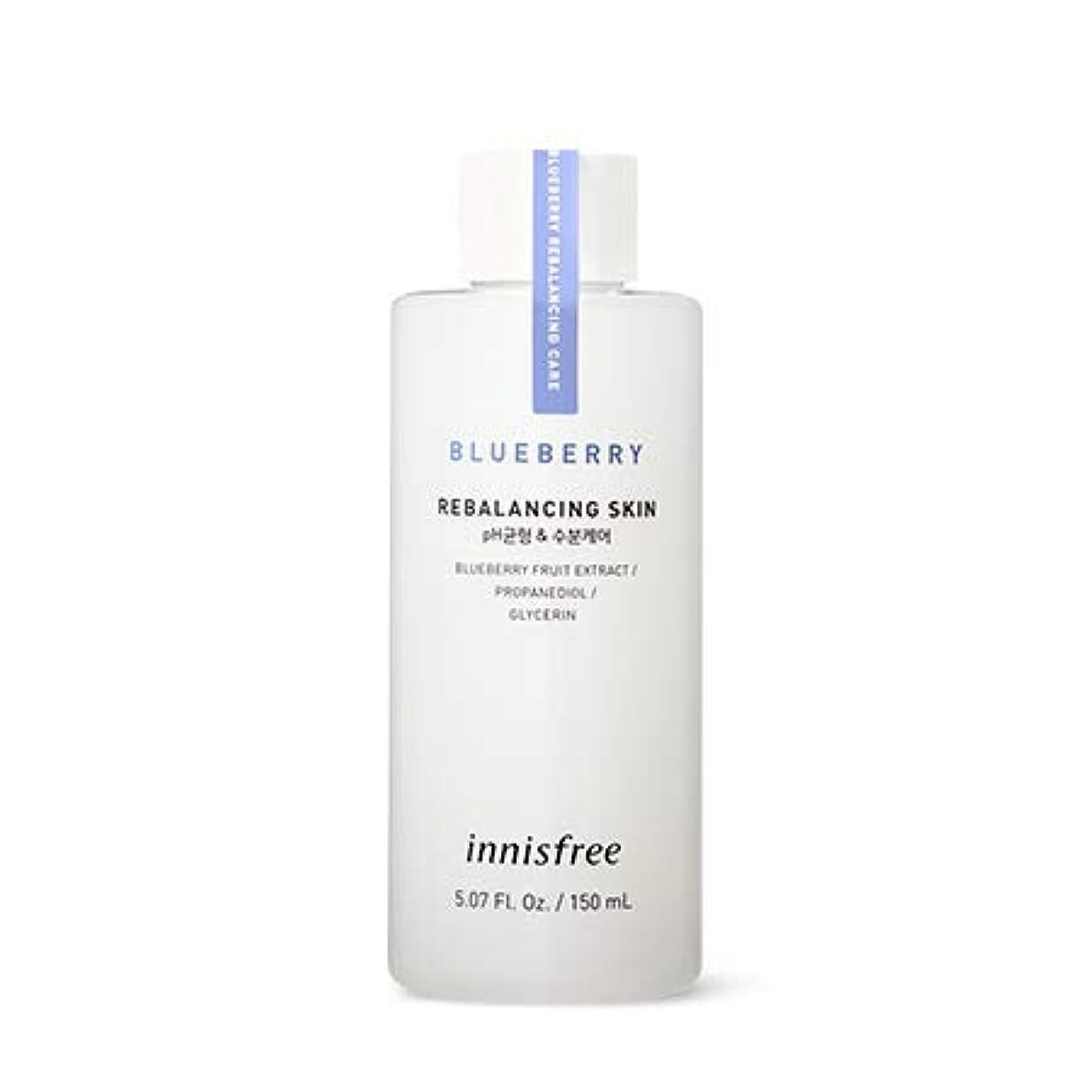 花弁定期的他の場所[イニスフリー.innisfree]ブルーベリーリバランシングスキン(2019新発売)/ Blueberry Rebalancing Skin (小容量(150ml))