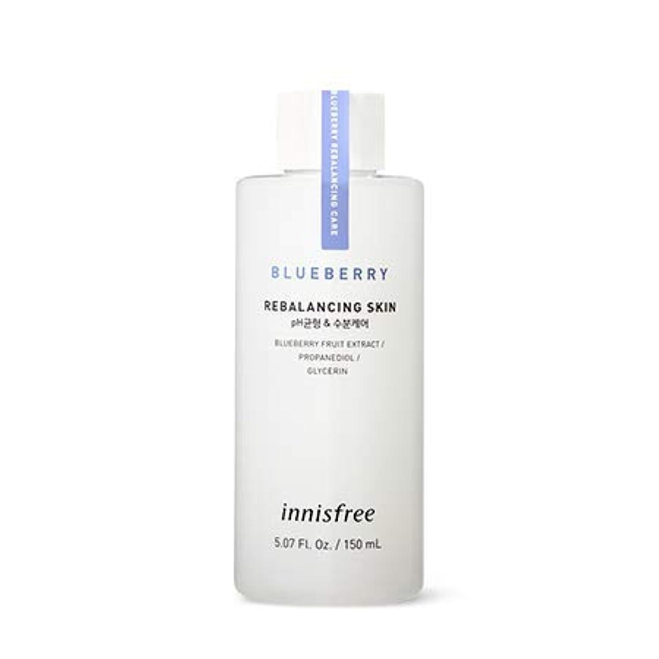 ランチョンとげ拾う[イニスフリー.innisfree]ブルーベリーリバランシングスキン(2019新発売)/ Blueberry Rebalancing Skin (小容量(150ml))