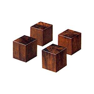 ADK 朝日木材加工 オーディオベースブロック 4個入  SD-BA3N