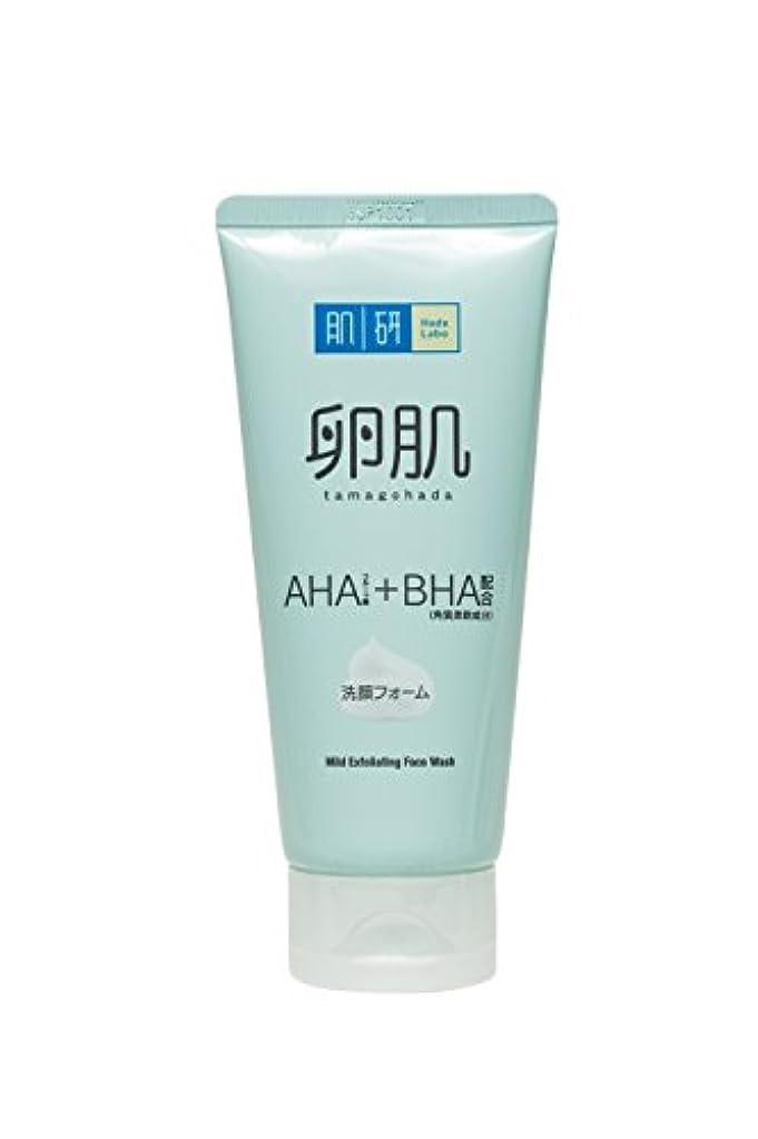 矩形火傷悲観主義者肌研(ハダラボ) 卵肌 マイルドピーリング洗顔フォーム 130g