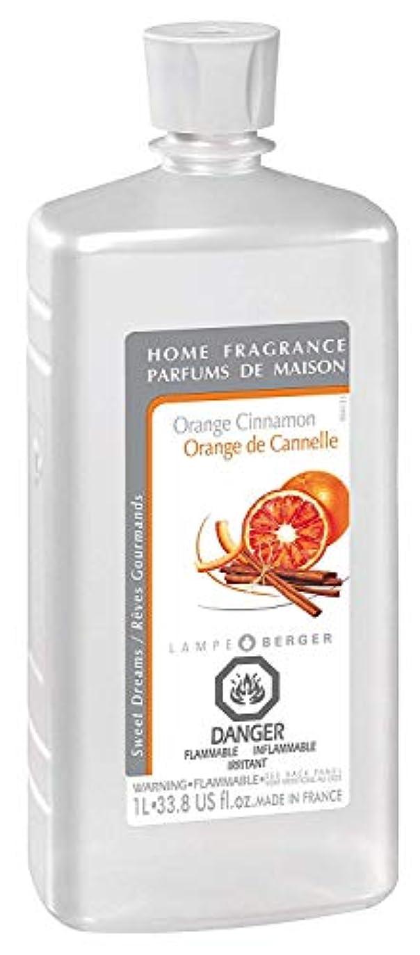 透けて見える到着値下げLampe Berger Fragrance, 33.8 Fluid Ounce, Orange Cinnamon by Lampe Berger