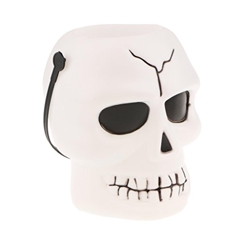 SONONIA 全3タイプ ハロウィーン 子供 トリック ハンドル キャンディボウルジャー キャンディーホルダー バケツ - 頭蓋骨