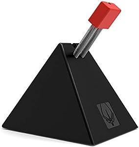 Hotline games ゲーミング マウスコード マネジメント マウスコードホルダー 太めケーブル対応 (ブラック)