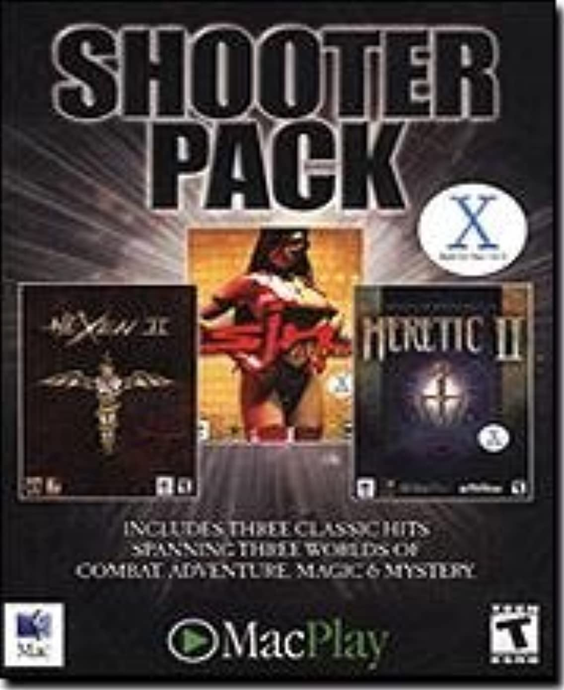 破壊去るまたねMacPlay 1000-01180 Shooter Pack Mac: Hexen II, Heretic II, Sin Gold (輸入版)