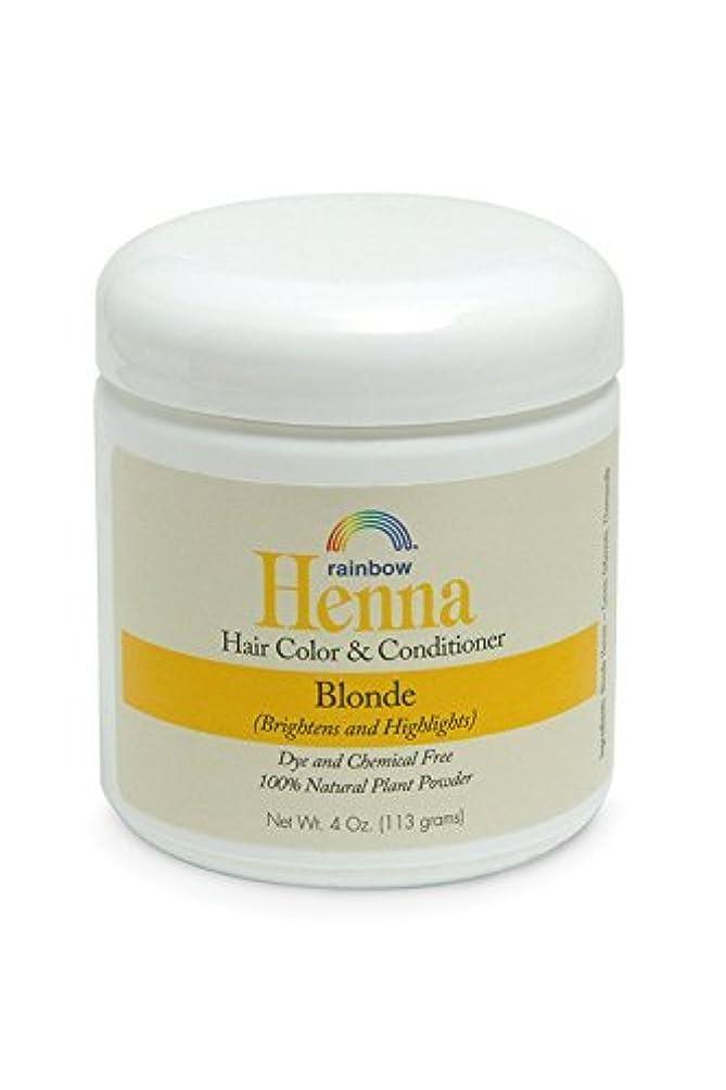 混合した単独で飢饉Rainbow Research Henna Persian Blonde Hair Color and Conditioner Organic 113 g (並行輸入品)