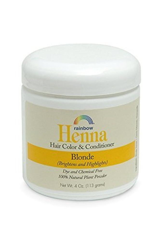 怠弁護分解するRainbow Research Henna Persian Blonde Hair Color and Conditioner Organic 113 g (並行輸入品)