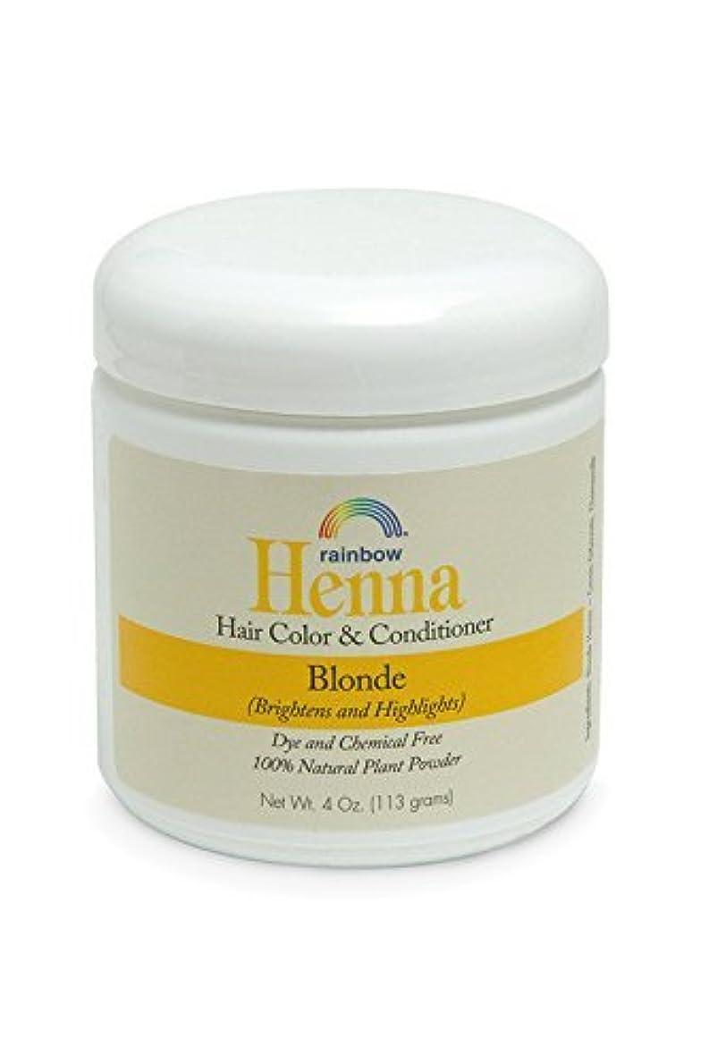不変主導権パウダーRainbow Research Henna Persian Blonde Hair Color and Conditioner Organic 113 g (並行輸入品)