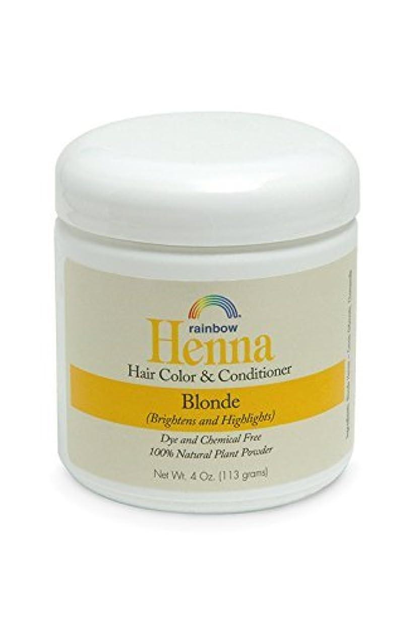 単位食品生態学Rainbow Research Henna Persian Blonde Hair Color and Conditioner Organic 113 g (並行輸入品)