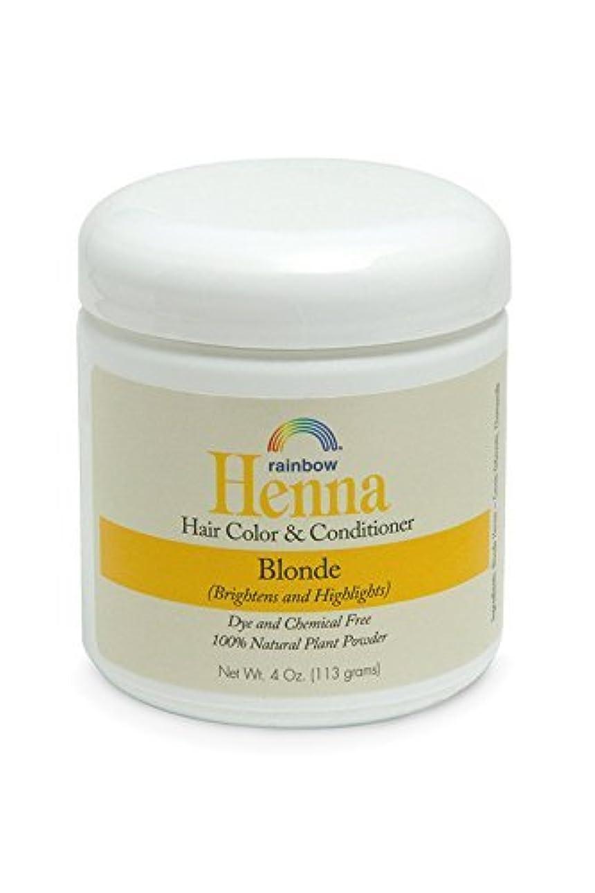 プロフェッショナル頭経営者Rainbow Research Henna Persian Blonde Hair Color and Conditioner Organic 113 g (並行輸入品)