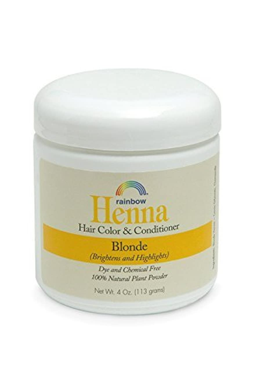 リネン事実上割れ目Rainbow Research Henna Persian Blonde Hair Color and Conditioner Organic 113 g (並行輸入品)