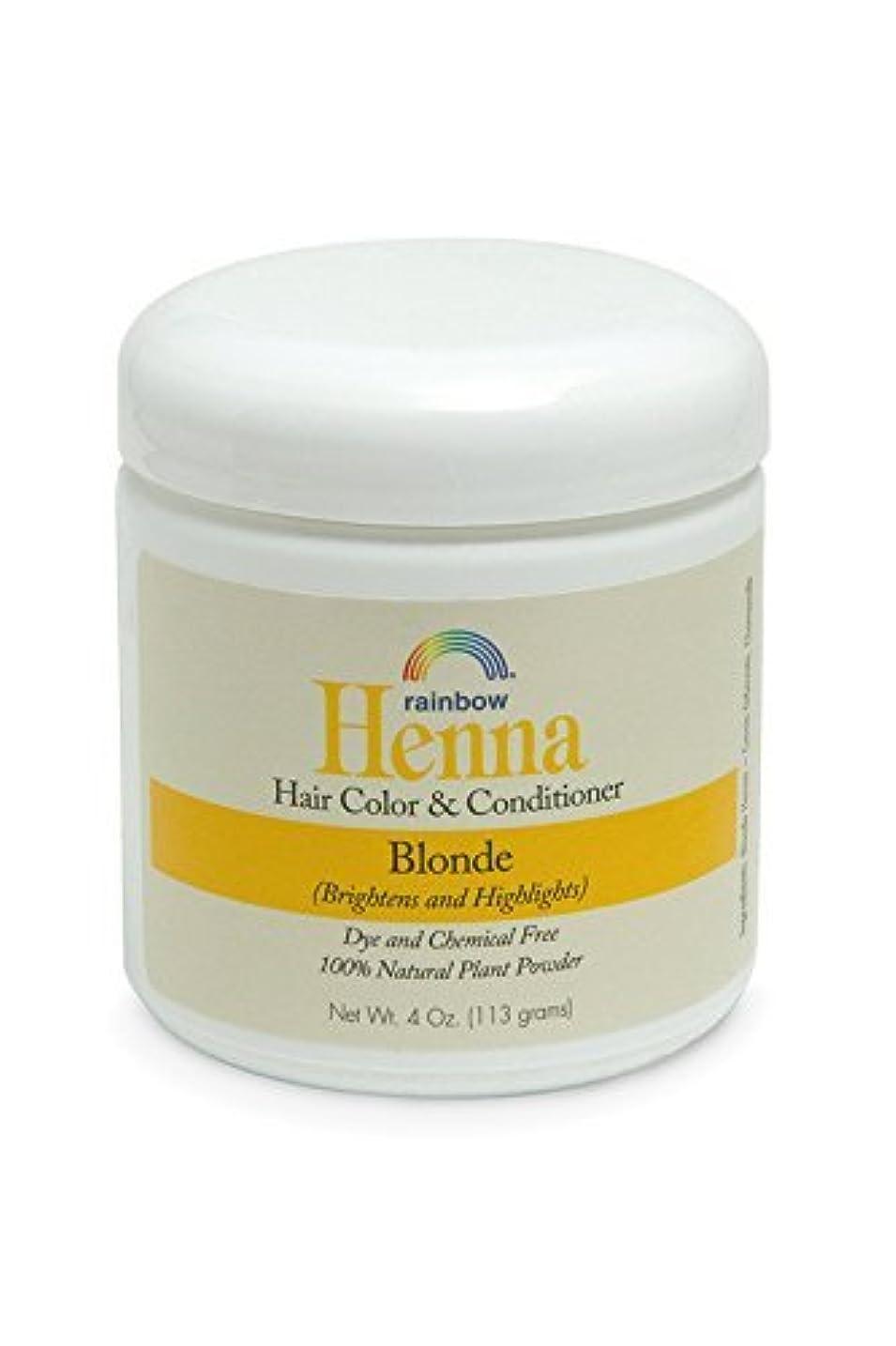 音節ガラガラ遠えRainbow Research Henna Persian Blonde Hair Color and Conditioner Organic 113 g (並行輸入品)