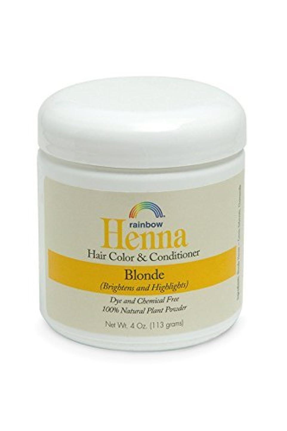 ジーンズ惨めな悪意のあるRainbow Research Henna Persian Blonde Hair Color and Conditioner Organic 113 g (並行輸入品)