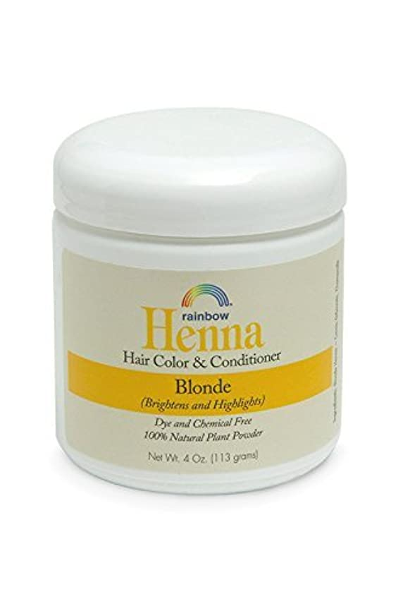 警報引き付けるテレビ局Rainbow Research Henna Persian Blonde Hair Color and Conditioner Organic 113 g (並行輸入品)
