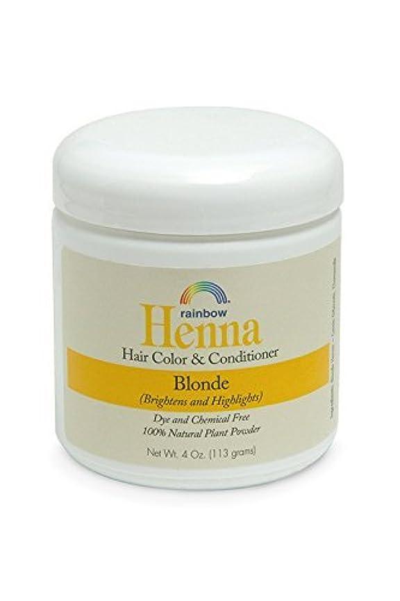 ガジュマル歌権限を与えるRainbow Research Henna Persian Blonde Hair Color and Conditioner Organic 113 g (並行輸入品)