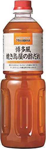 宮島醤油 博多風焼き鳥屋の酢だれ 1L