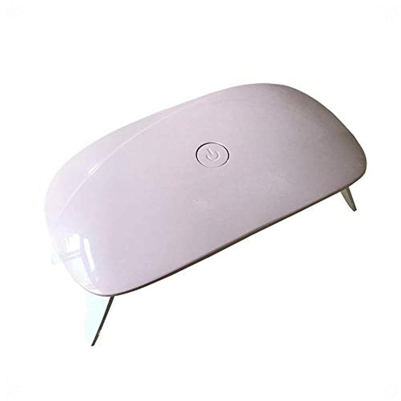 正規化一ランチYESONEEP 折りたたみネイルライトセラピーランプネイルマシンサンライトセラピーライトUVネイルランプミニ (色 : ピンク)