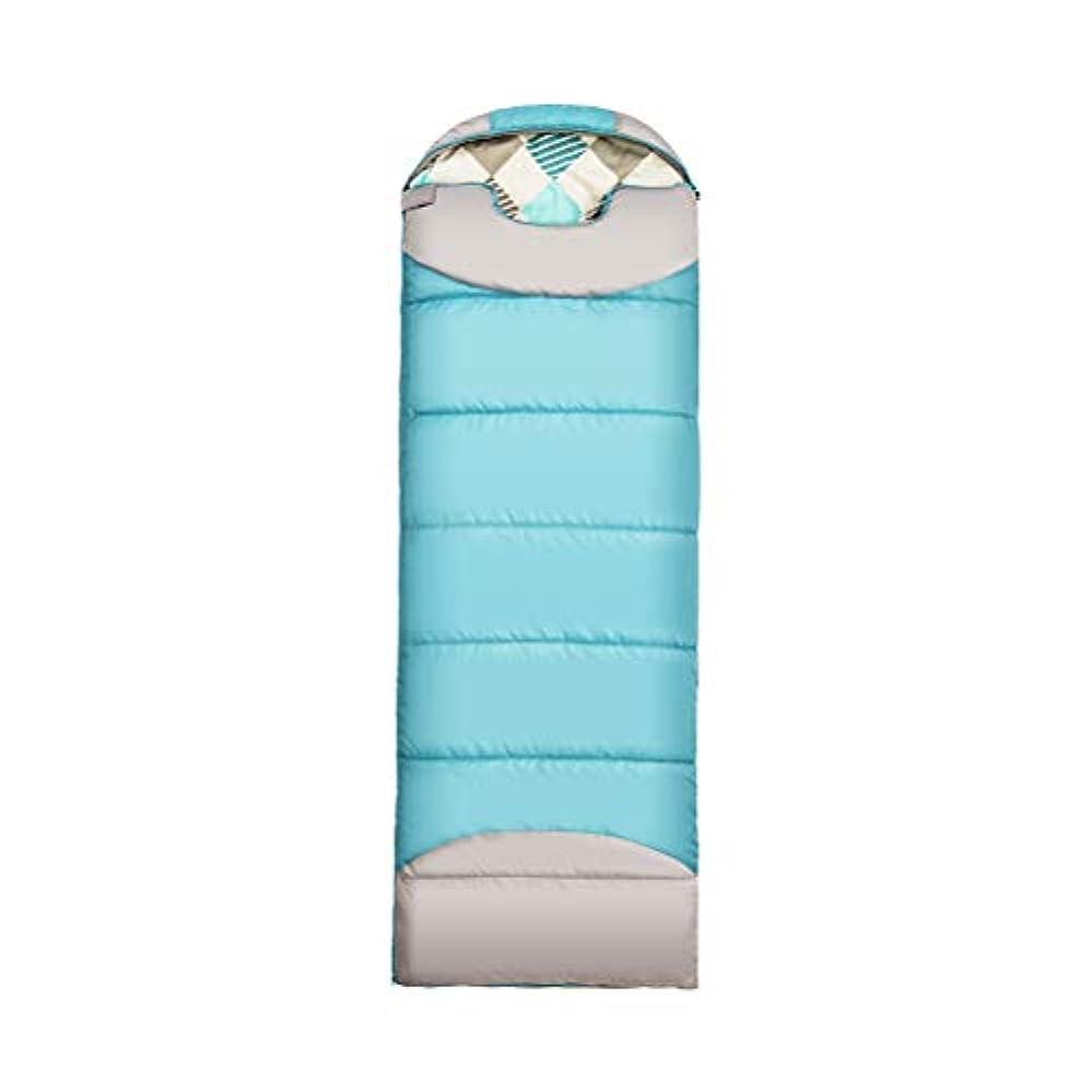 シンジケートドームカート封筒の寝袋 - 大人と子供の屋外キャンプのためのシングル3シーズン寝袋 - 快適で暖かい睡眠のための軽量、コンパクト、そして防水