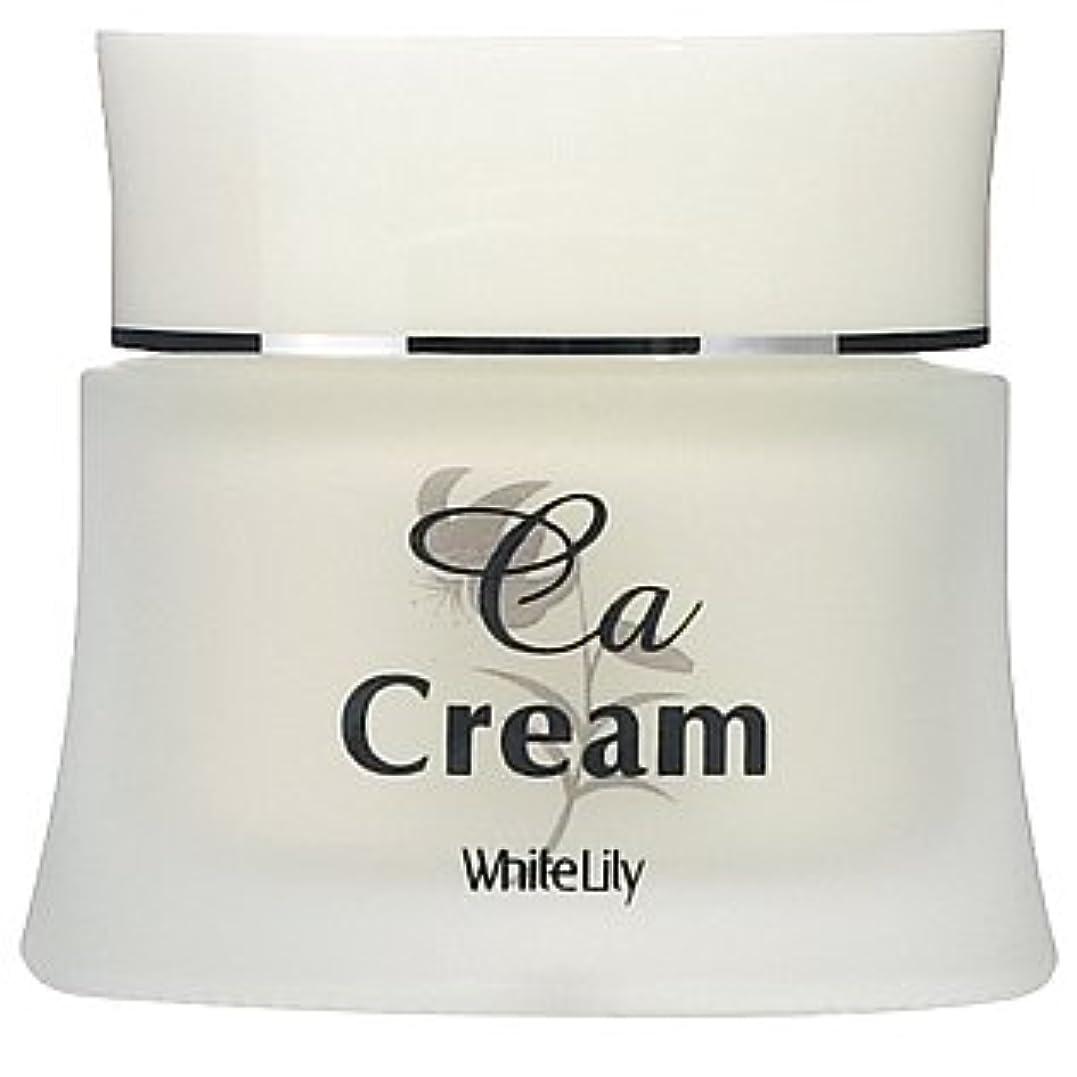 セットするボイラー明確なホワイトリリー CAクリーム 40g クリーム