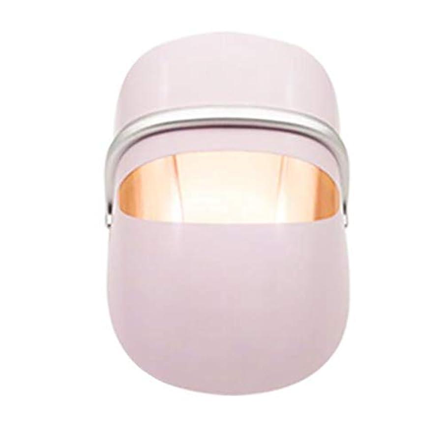 シングル鎖回復するLEDの顔のマスクの皮の若返りのしわの取り外しの反老化のマスク療法ライト多機能の美機械