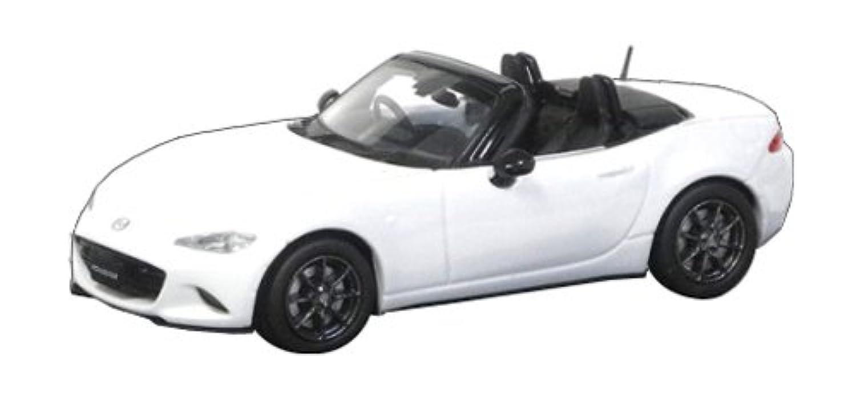オーバーステア 1/64 MAZDA ROADSTER (2015) クリスタルホワイトパールマイカ 完成品