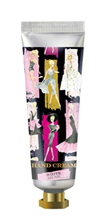 突き刺す乙女受けるヒューマンリンク Barbie(バービー) フレグランス ハンドクリーム 60ml (ホワイトムスクの香り) ハンドケア 保湿