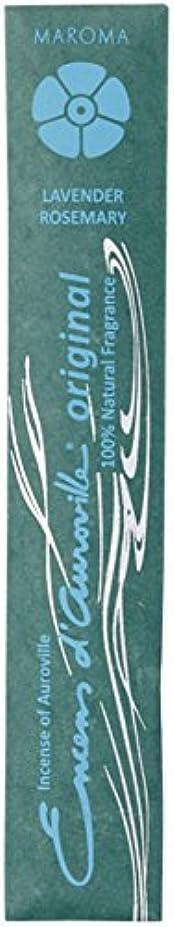 酔ったハーブエレメンタルマロマ オリジナル ラベンダー アンド ローズマリー (MAROMA ORIGINAL LAVENDER & ROSEMARY) 10本(25g) お香