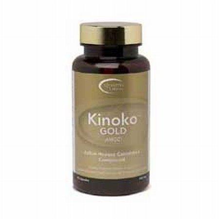 【きのこの免疫パワー】キノコゴールド=高品質= Kinoko Gold AHCC - 60cp  ~海外直送品~