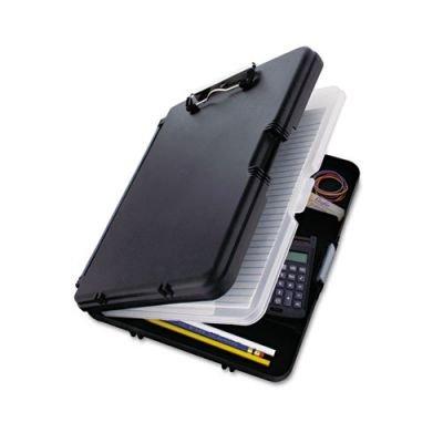 SAUNDERS (サンダース) WorkMate 2 Plastic Storage Clipboard ワークメイト 2 プラスチック ストレージ クリップボード (BLACK) [並行輸入品]