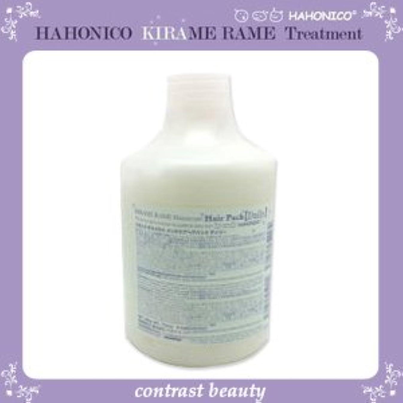 失業者時折の頭の上【X4個セット】 ハホニコ キラメラメ メンテケアヘアパックデイリー 500g KIRAME RAME HAHONICO
