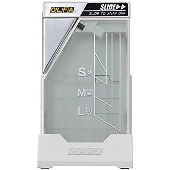 オルファ 裁断機 刃折器 ポキステーション 白 214BS 11.6cm×6.6cm×6.65cm