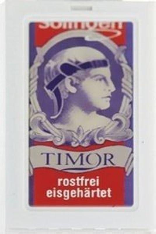 等しいエロチック予算Timor Stainless Steel 両刃替刃 100枚入り(10枚入り10 個セット)【並行輸入品】