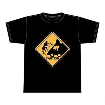 けものフレンズ あぶないよー! Tシャツ ブラック
