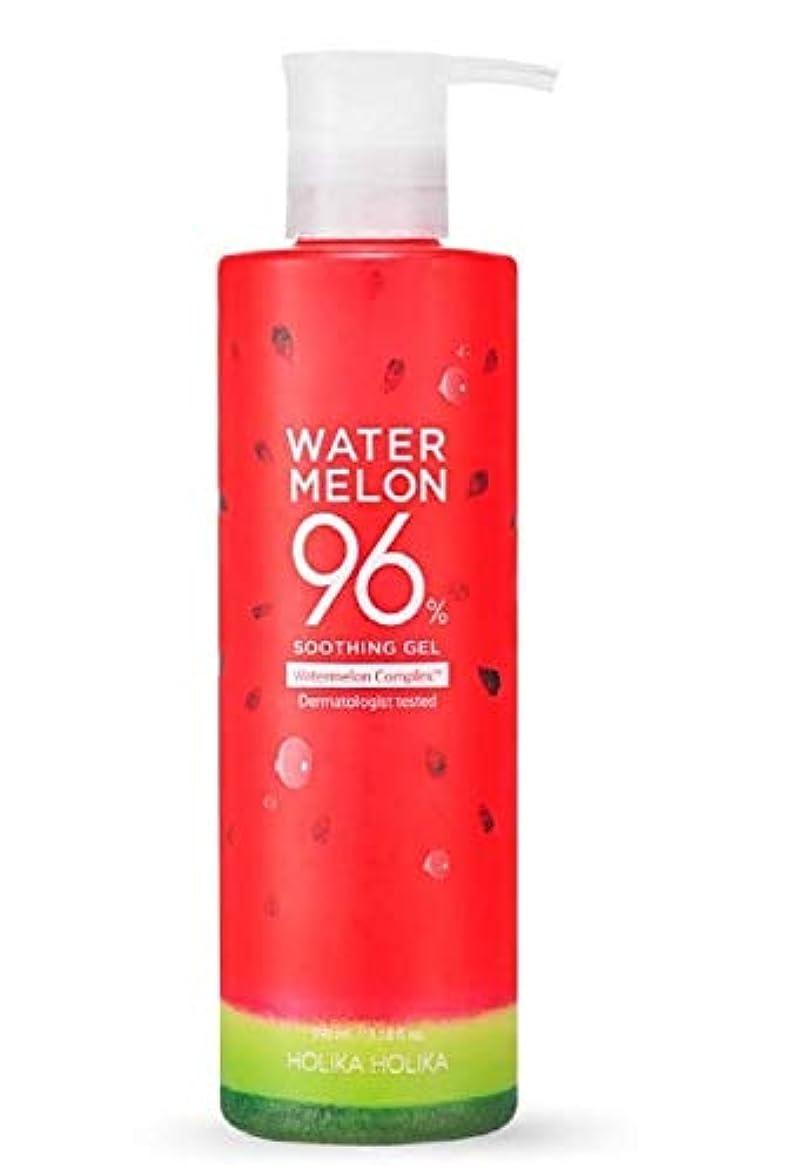 乱暴なケーブルスイス人ホリカホリカ ウォーターメロン96%スージングジェル 390ml/HOLIKAHOLIKA WATER MELON 96% SOOTHING GEL 390ml