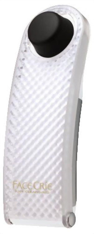 ほのめかす育成花HITACHI イオンクレンジング器 フェイスクリエ NC-550-W(パールホワイト)