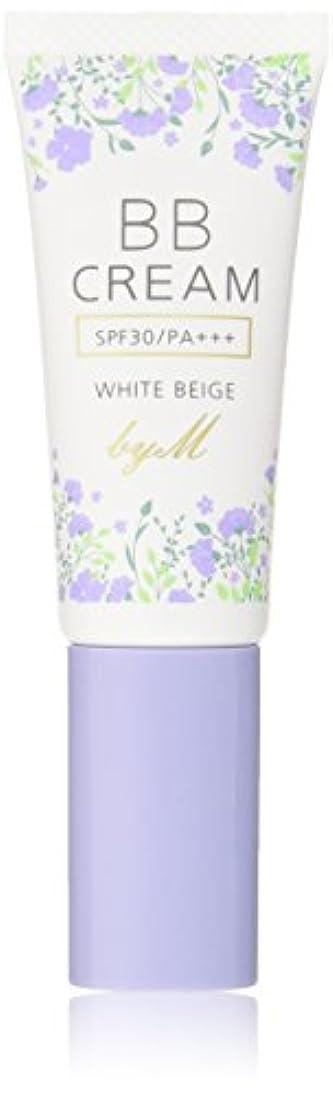 時期尚早液化する通常BB クリーム byM ホワイトベージュ 30g