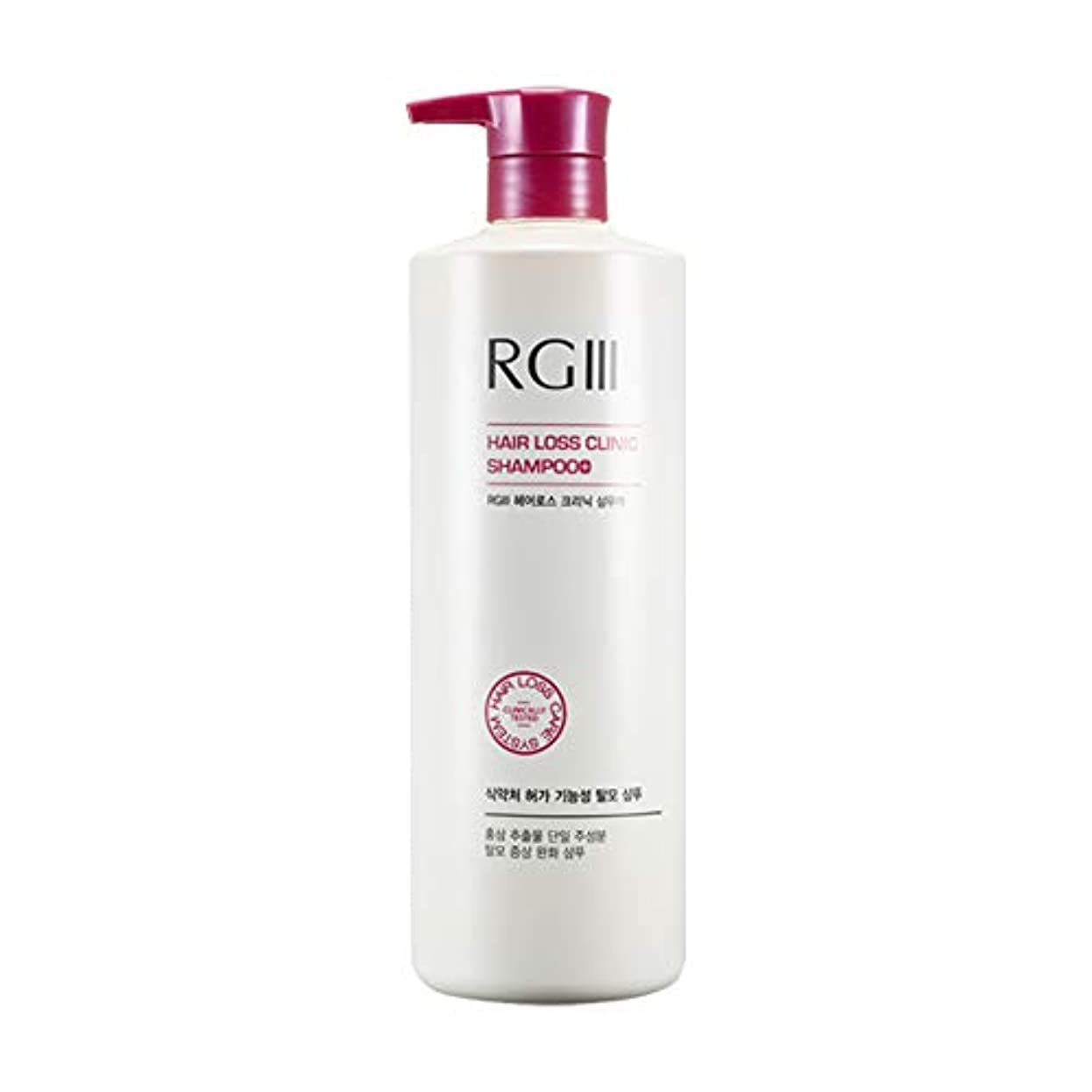 [コスモコス]COSMOCOS RGスリーヘアロスクリニックシャンプー液 520ML 海外直送品 RGⅢ hair loss clinic shampoo [並行輸入品]