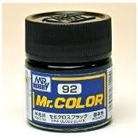 まとめ買い!! 6個セット 「Mr.カラー セミグロスブラック C92」