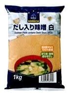 だし入り味噌 白 1kg /ホレカセレクト(12袋)