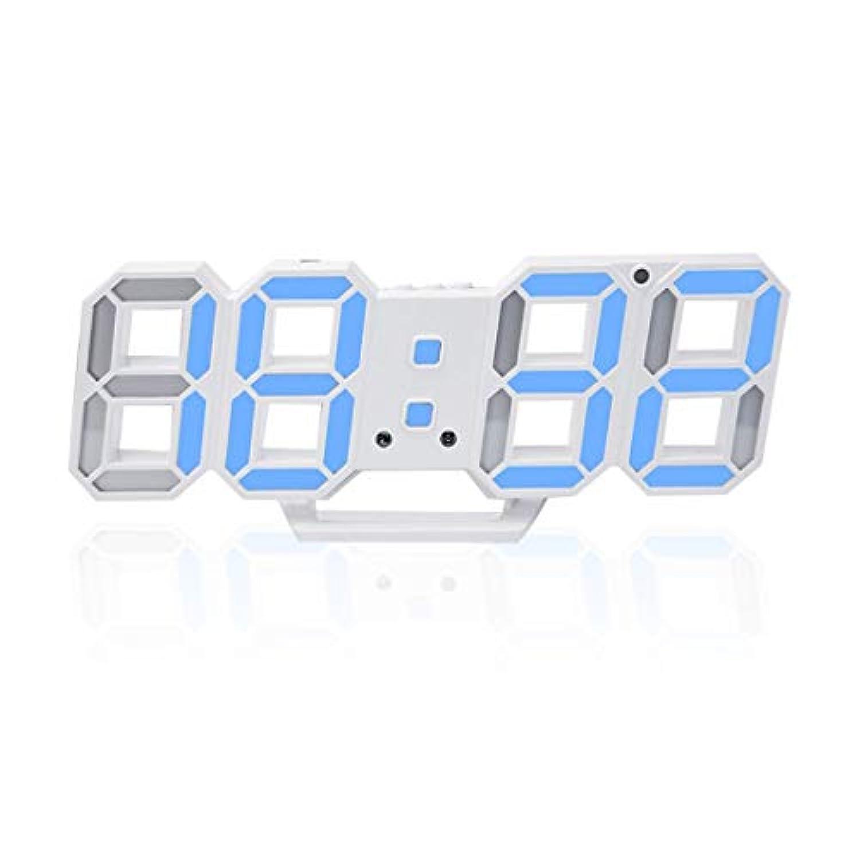 Swiftgood LED目覚まし時計、USB充電テーブルファッションホーム旅行のための素晴らしい夜の時計