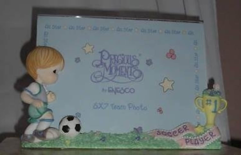 Precious Moments – 少年サッカープレーヤーフォトフレームby Enesco