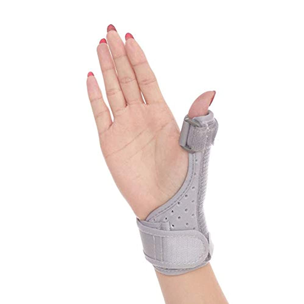 手首の親指の指の副木、関節炎、腱炎、手根管の痛みの軽減、軽量で 調節可能なサイズに適しています