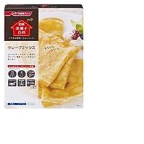 日清フーズ株式会社 日清 お菓子百科 クレープミックス 箱 200g ×24個