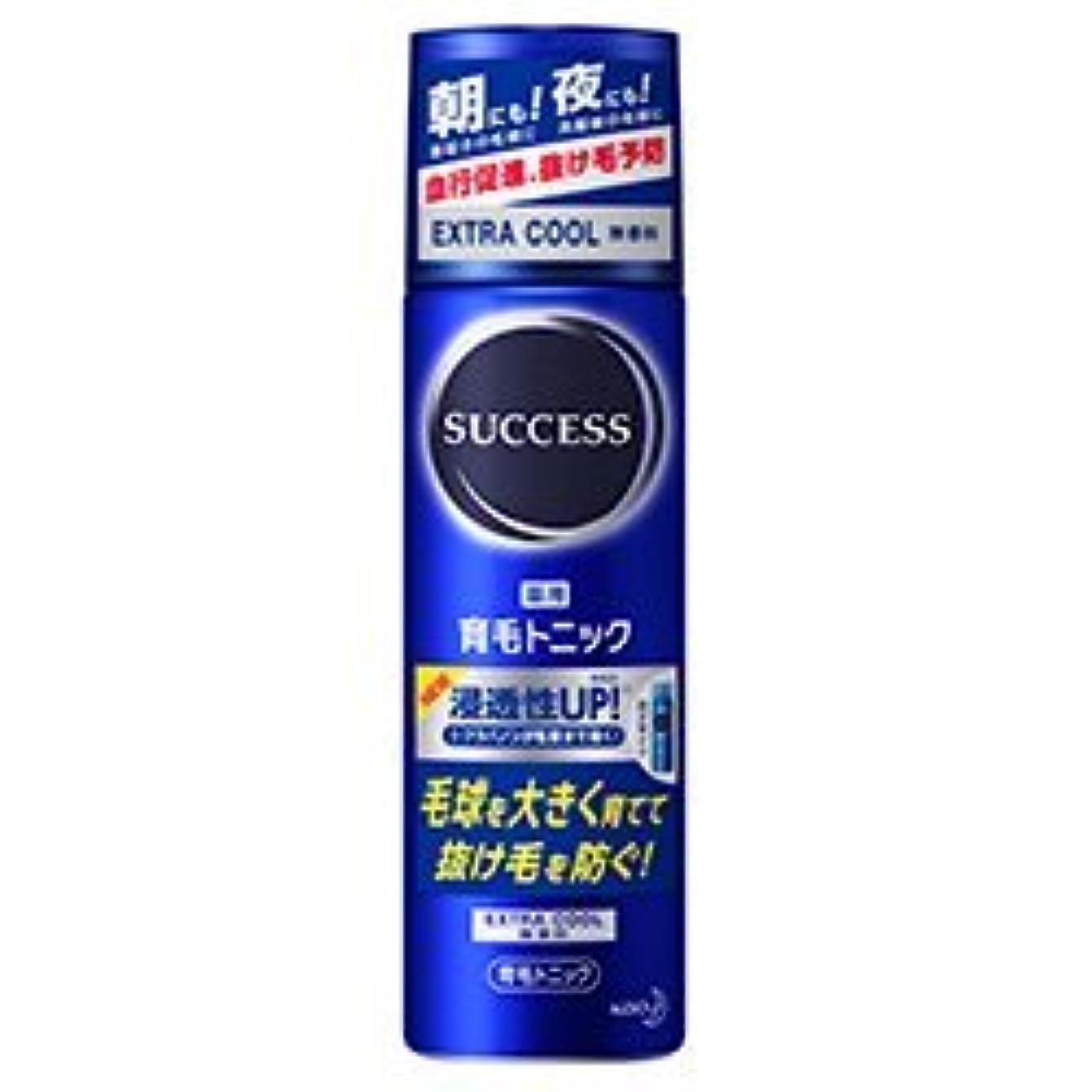 飲料阻害するマングル【花王】サクセス 薬用育毛トニック 無香料 180g ×10個セット