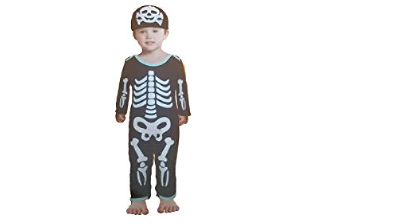 [CVS]CVS Skeleton Body Suit 612 Months Halloween Costume Infants 4535019 [並行輸入品]