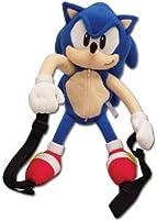 "Sonic The Hedgehog: Sonic 15"" Character Plush Back Pack ぬいぐるみ 人形 並行輸入"