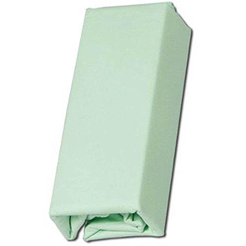 アイリスオーヤマ 布団カバー 掛け布団用 綿100% シングル 150×210cm パステルグリーン CMK-S
