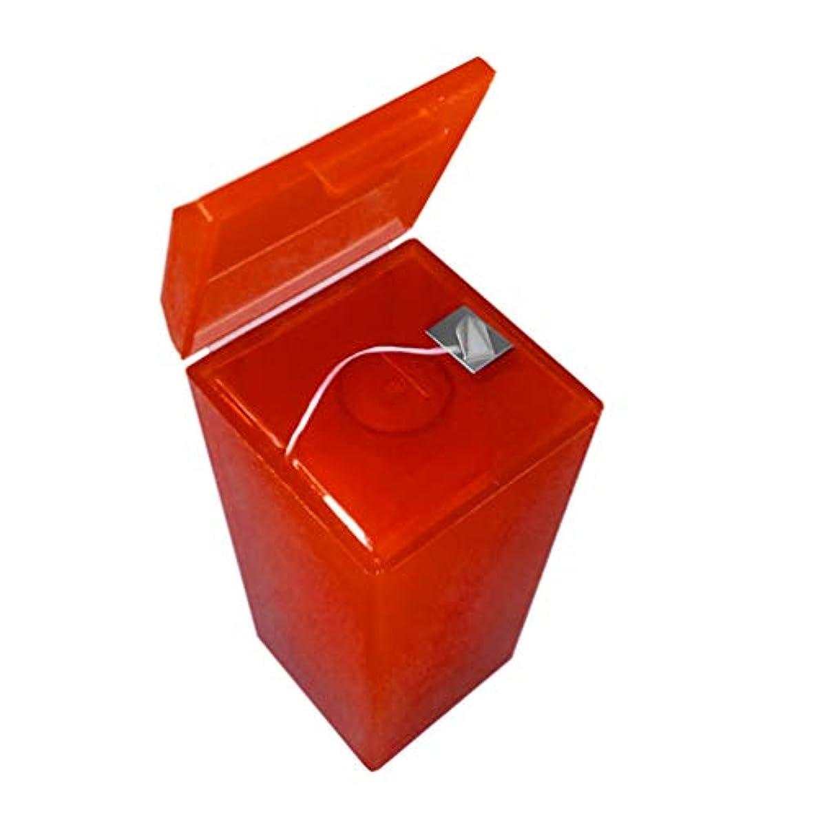 クリックパステル考案するHealifty フロスボックス交換可能なプラスチック製の女性用、男性用デンタルフロス旅行屋外(赤)とデンタルフロス収納ボックスコンテナを切断ポータブル自己