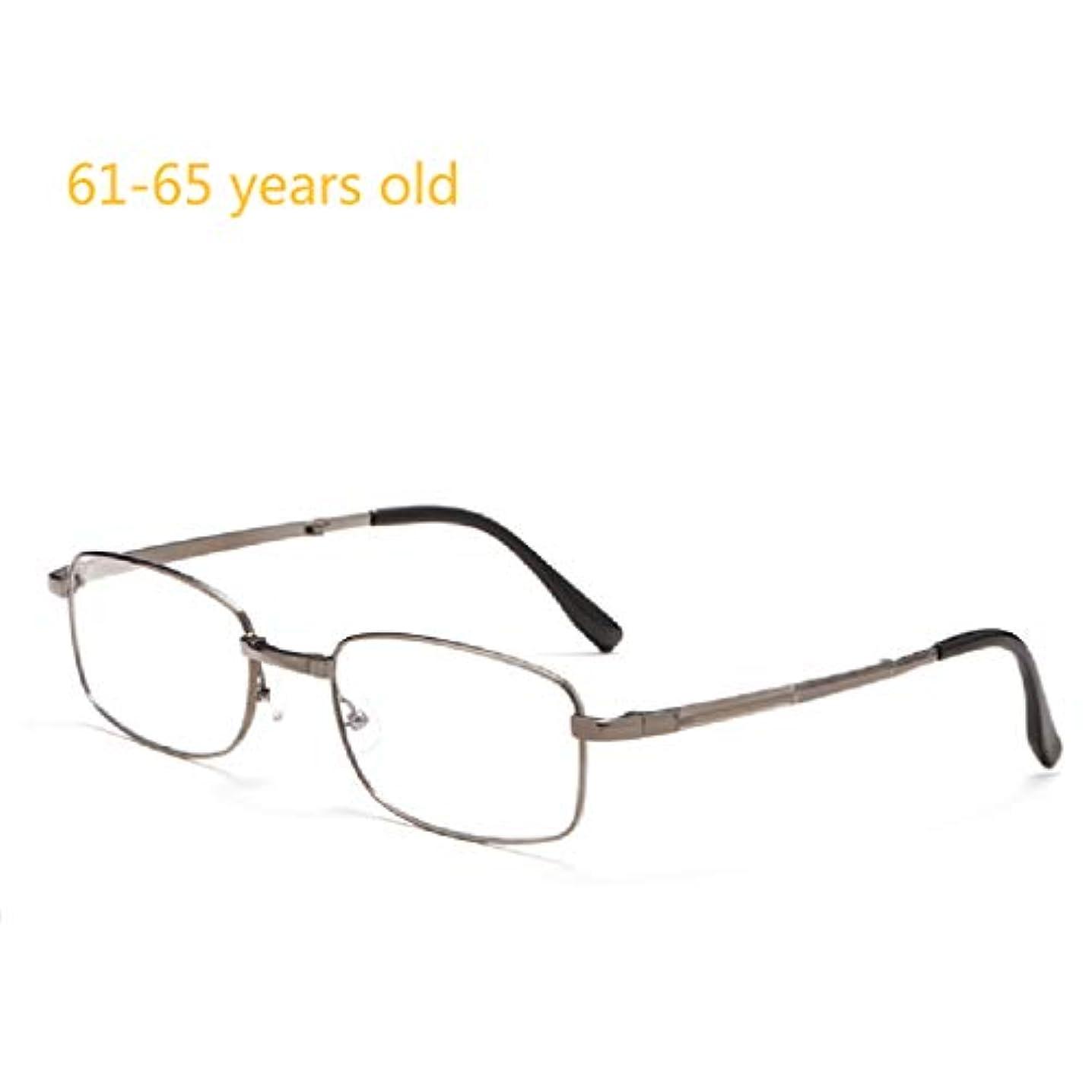 気候の山厳しいブラウズ男性用アンチブルーリーダー、プログレッシブマルチフォーカス老眼鏡。高解像度の2層ブルーフィルムコーティング、純チタンフレーム、軽量で持ち運びが簡単。